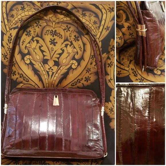 Vintage EEL SKIN bag